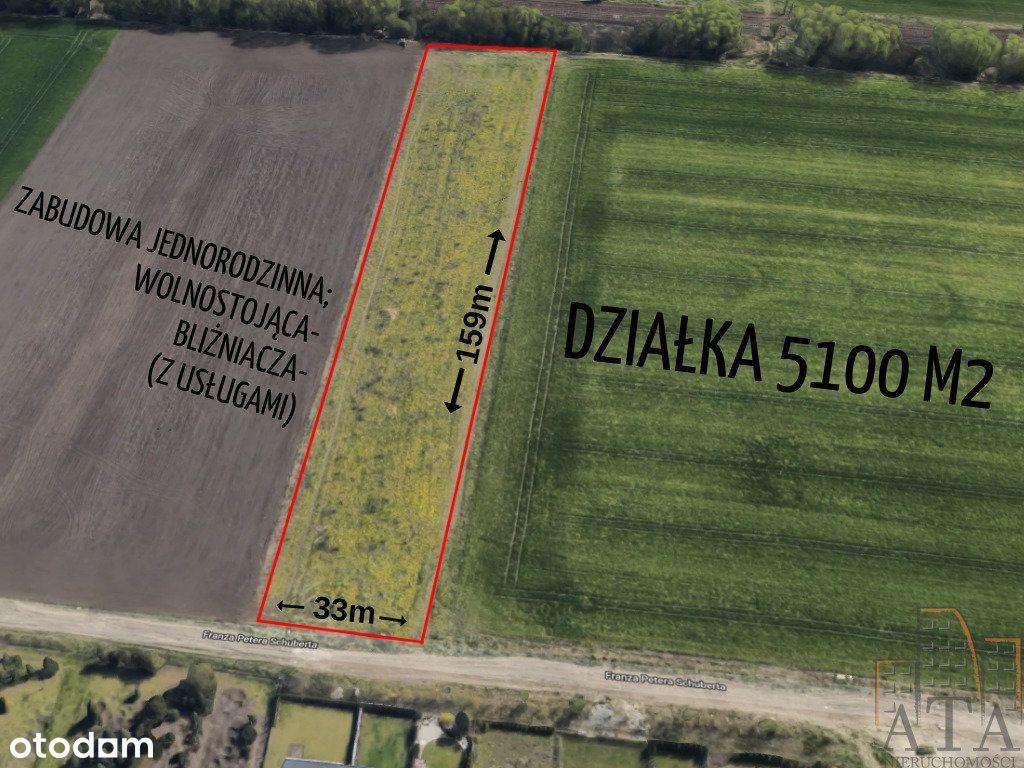 500m od granicy Wrocławia