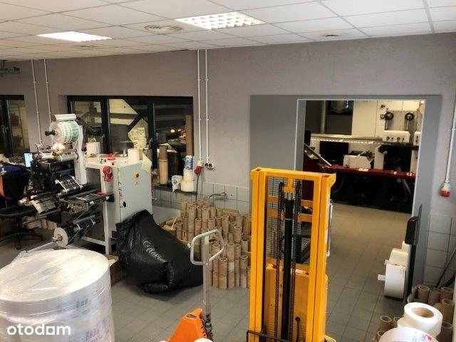 WYSOKI STANDARD hala produkcyjna plus biura