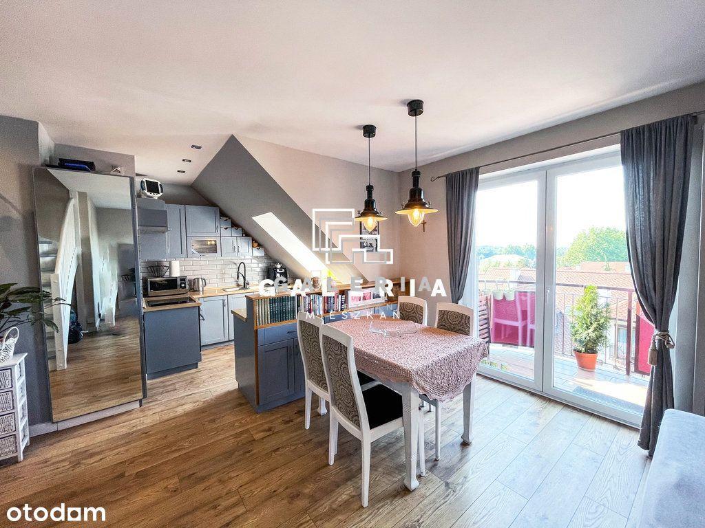 Klimatyzowane Dwupoziomowe mieszkanie | Podgórz