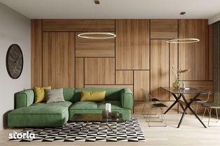Qualis II: Apartament 2 camere 52 mp, zona Coresi, Tractorul