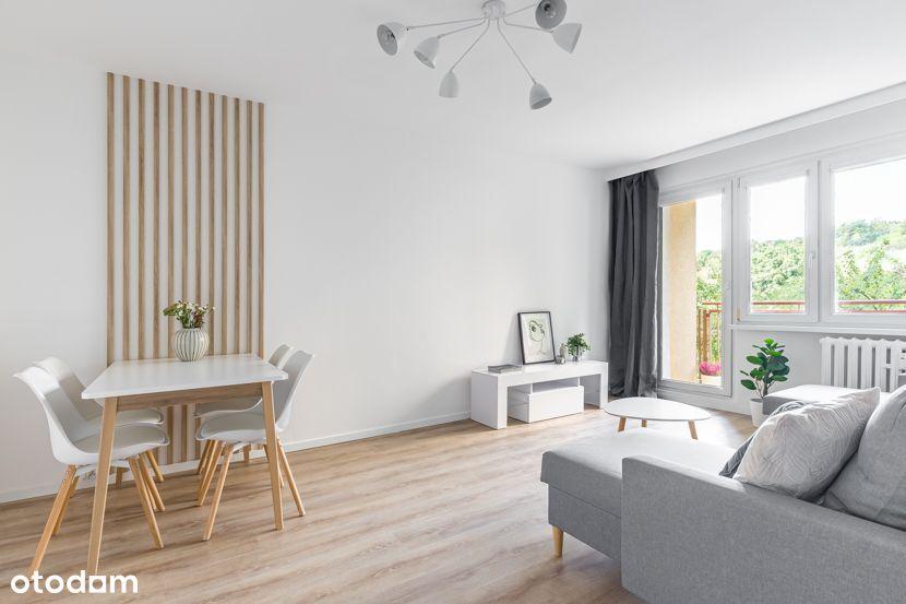 2-pokojowe, słoneczne mieszkanie z osobną kuchnią