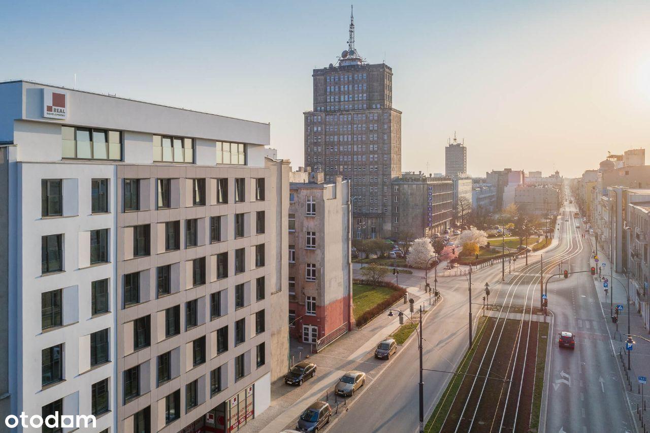 Top kawalerka inwestycyjna w Nowym Centrum Łodzi
