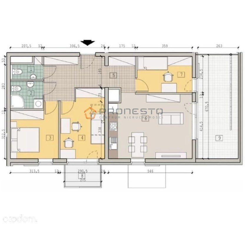 Mieszkanie 4 pokojowe z tarasem - ul.Wieniawskiego