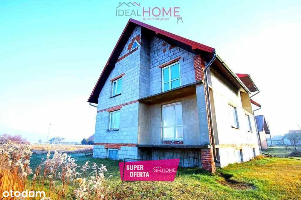 Murowany dom w Rudzie Łańcuckiej ! Atrakcyjna cena
