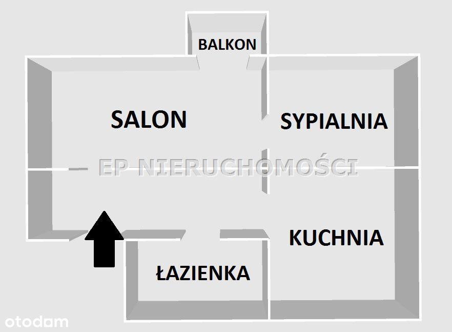 Mieszkanie, 40 m², Częstochowa