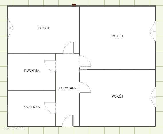 Duże 3 pokoje, parter, bezczynszowe, ogród