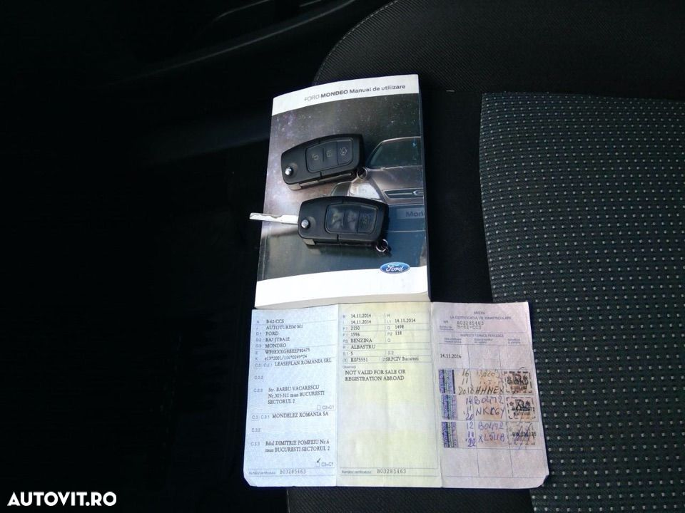 Ford Mondeo 1.6 - 17