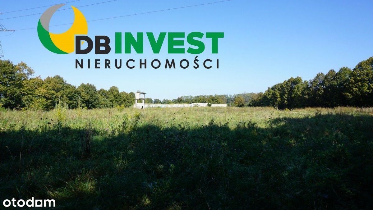 Działka inwestycyjna w dobrej lokalizacji