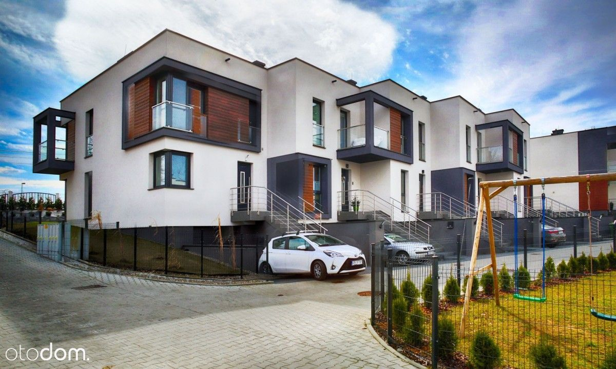 Brzesko Duże Nowe mieszkanie z garażem i ogródkiem