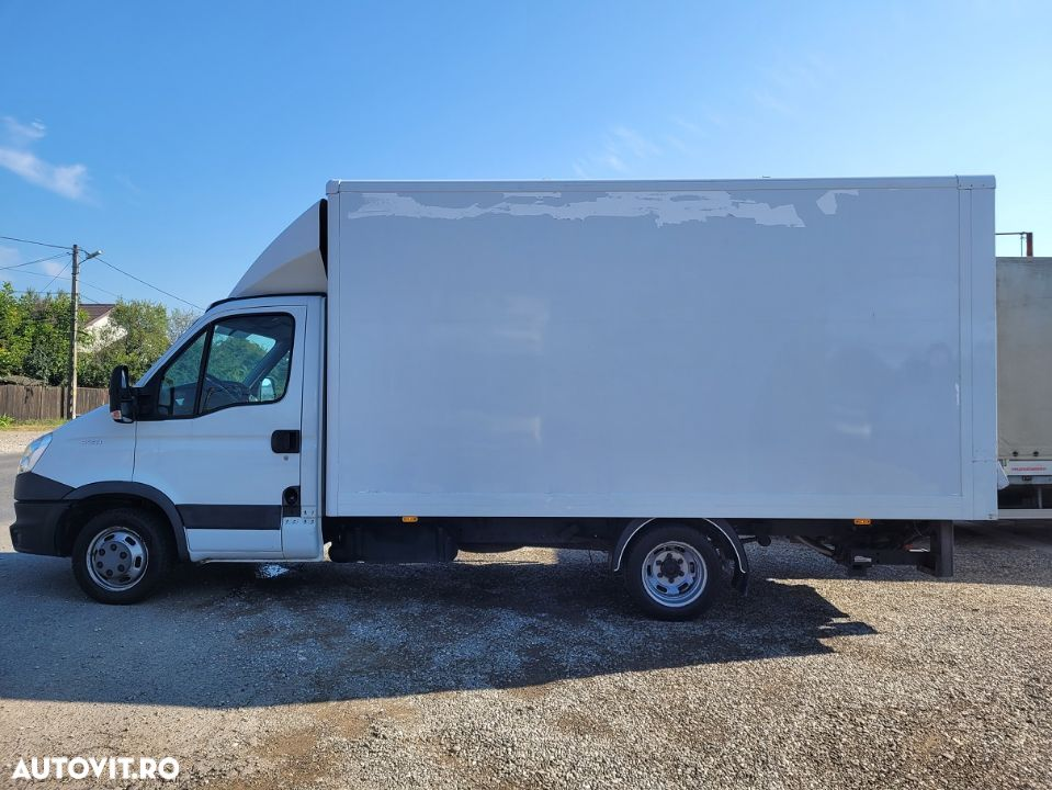 Iveco Daily 35C13 box si lift  AC finantare leasing  an 2014 - 5
