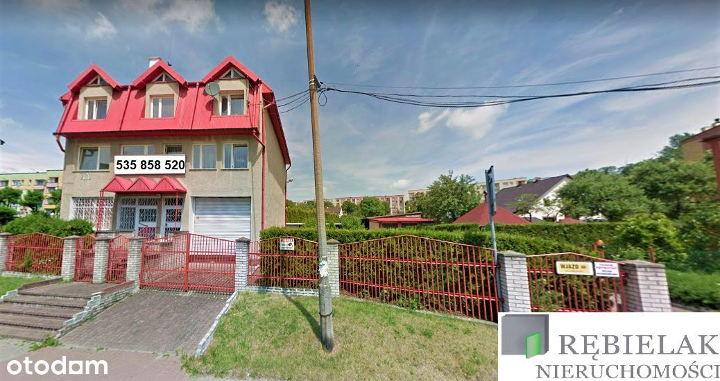 Budynek Usługowo - mieszkalny.