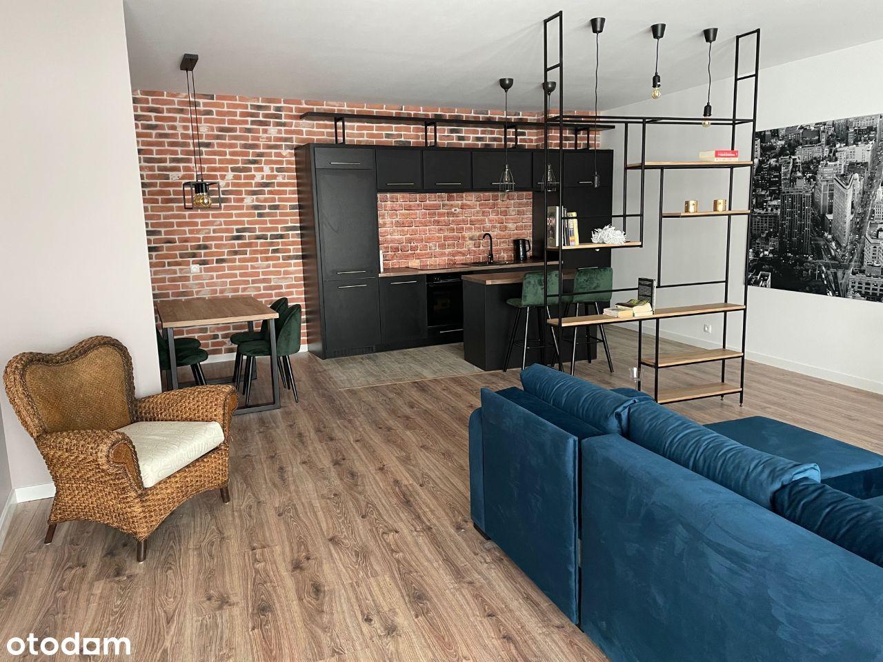 apartament w stylu loftowym