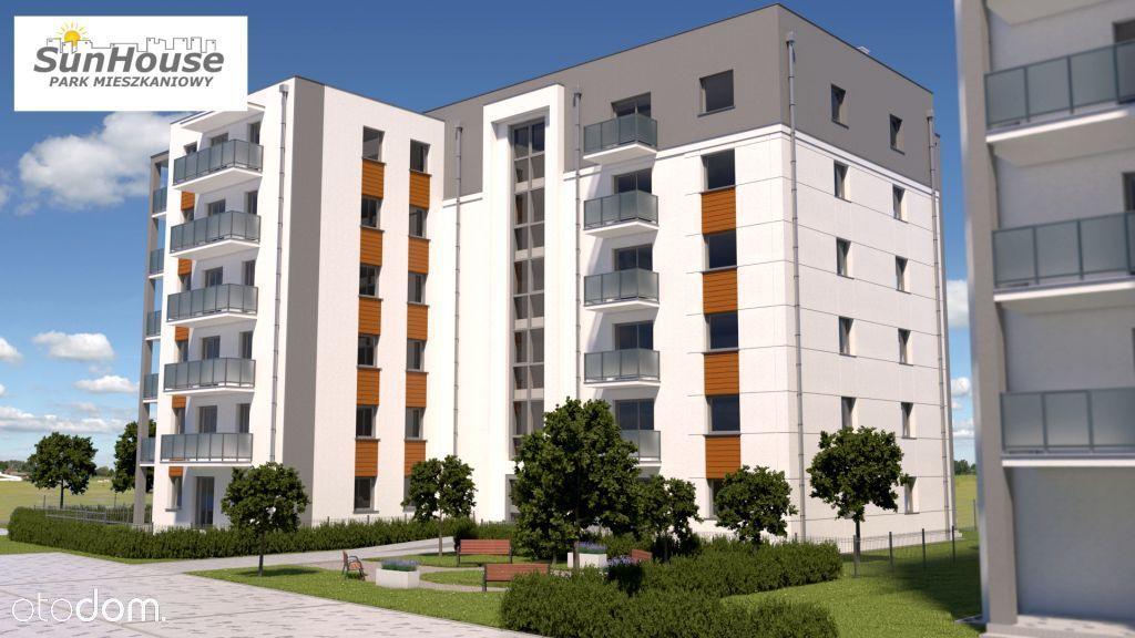 Sun House bud. D mieszkania od 28,8 do 61,8 m2.
