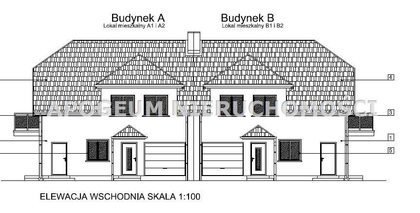 Lokal mieszkalny w zabudowie bliźniaczej w Klepacz