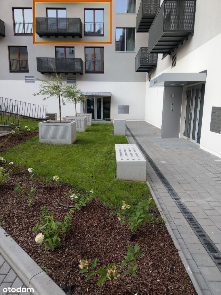 Centrum, balkon, klima, rowerownia, 0%, UA/RU