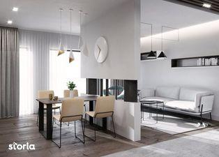 Apartament nou de 2 camere, zona centrala, etaj 2, 58.53 mp utili