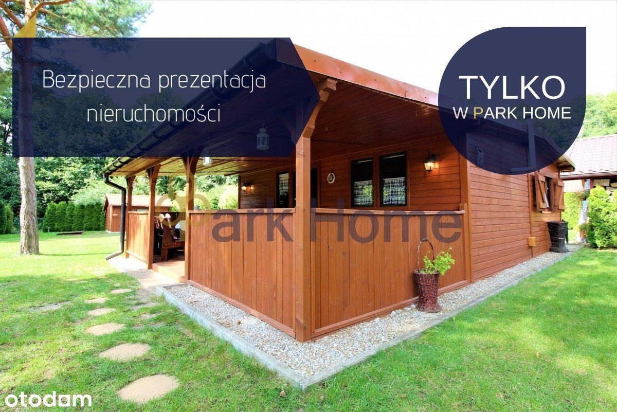 Drewniany dom letniskowy - Jezioro Wilcze