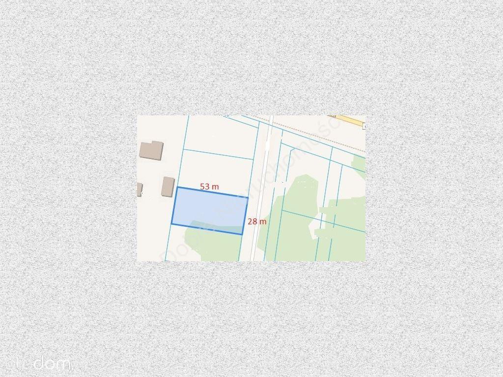 Działka Objęta Miejscowym Planem - Skierdy