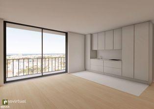 Apartamento T1 Novo, com garagem, Matosinhos
