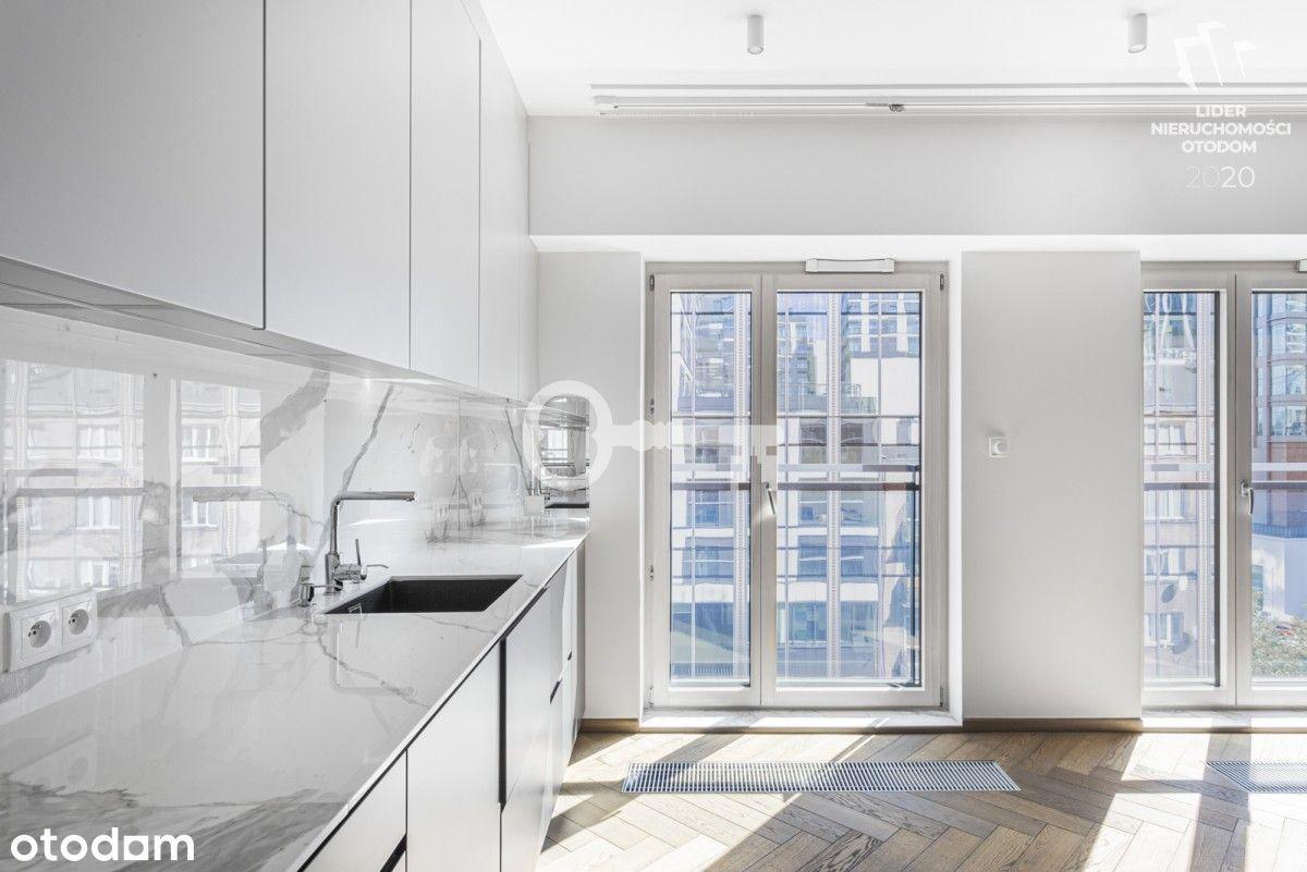 Apartament w Mennica Residence ul Grzybowska 43A