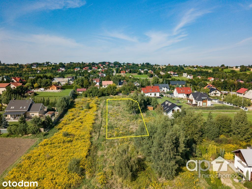 Widokowa działka 10 arów, Chorągwica
