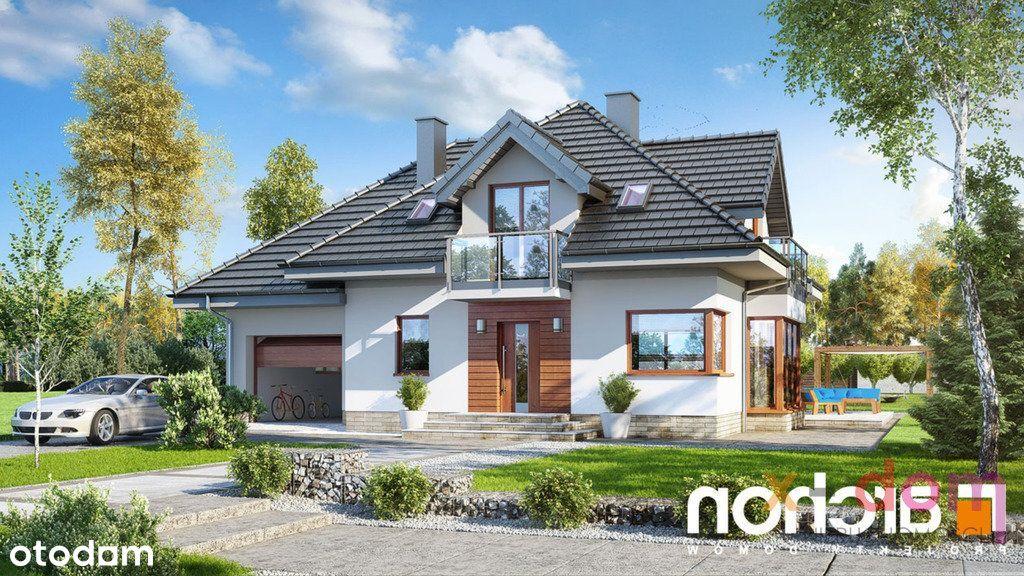 Na sprzedaż uroczy piętrowy dom, w stanie surowym