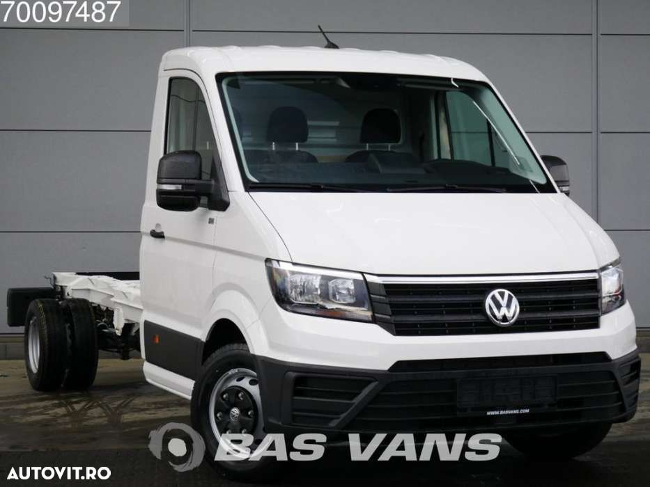 Volkswagen Crafter 2.0 TDI 177PK Chassis cabine Dubbellucht Airco Cr... - 3