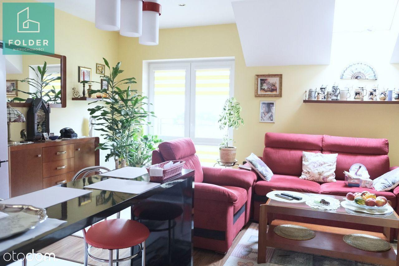 Słocina, 48m2, 2-3 pokoje, dwupoziomowe, 2 balkony