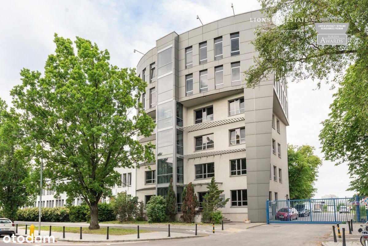Dobrze zlokalizowany budynek biurowy na Mokotowie