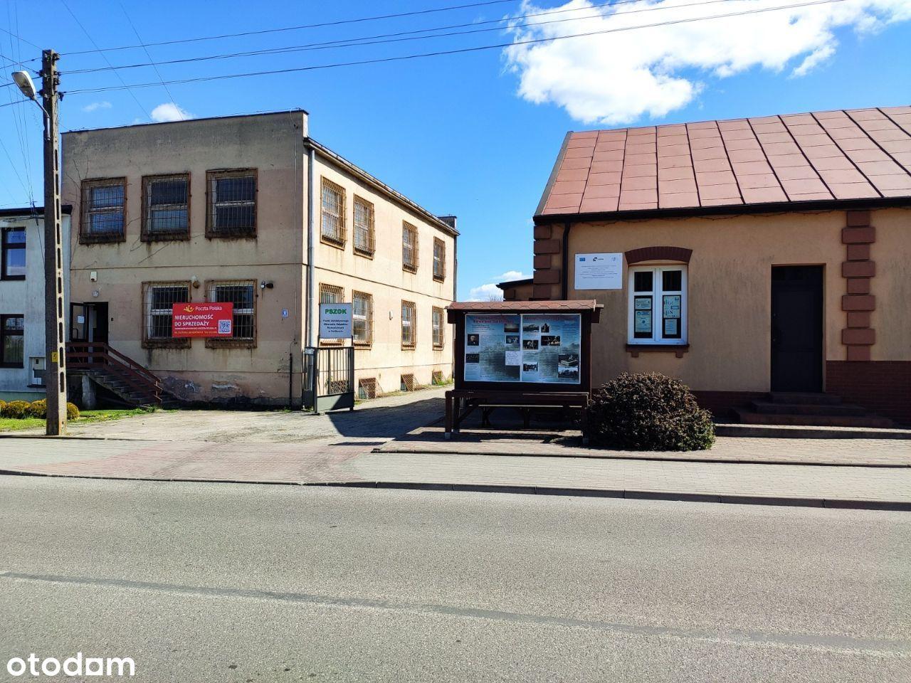Budynek biurowy plus garaż na działce 700 m2