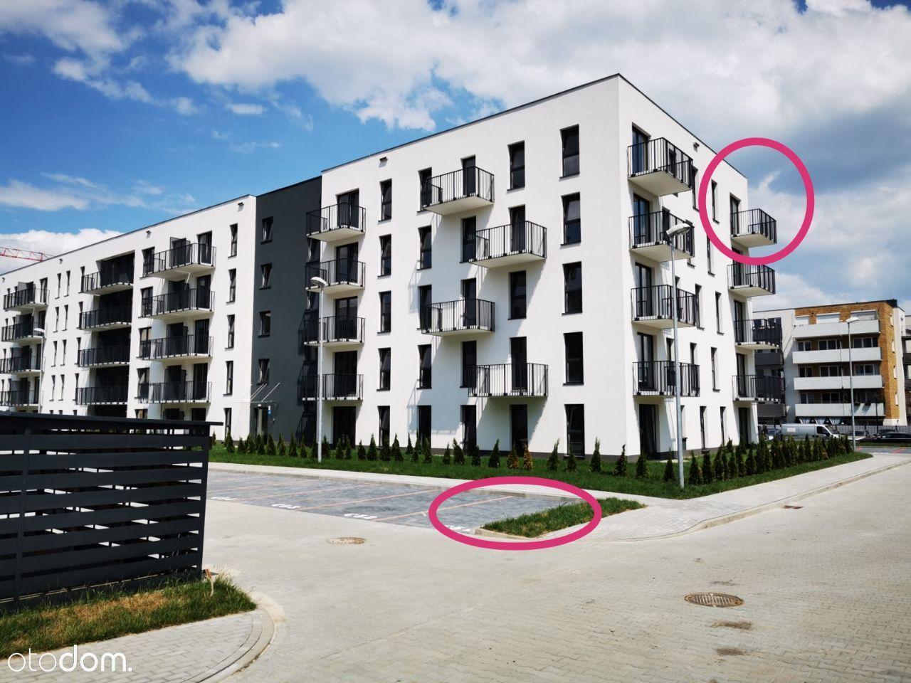 3pokoje, 52m, 2021,narożne,balkon, winda,Bieżanów