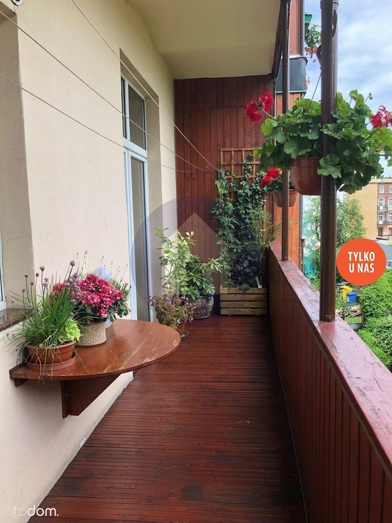 Apartament z dużym balkonem i ogrodem