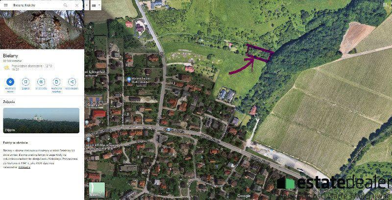 Piękna unikatowa działka na krakowskich Bielanach