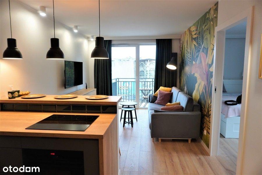 Apartament w centrum - River House, balkon, garaż!