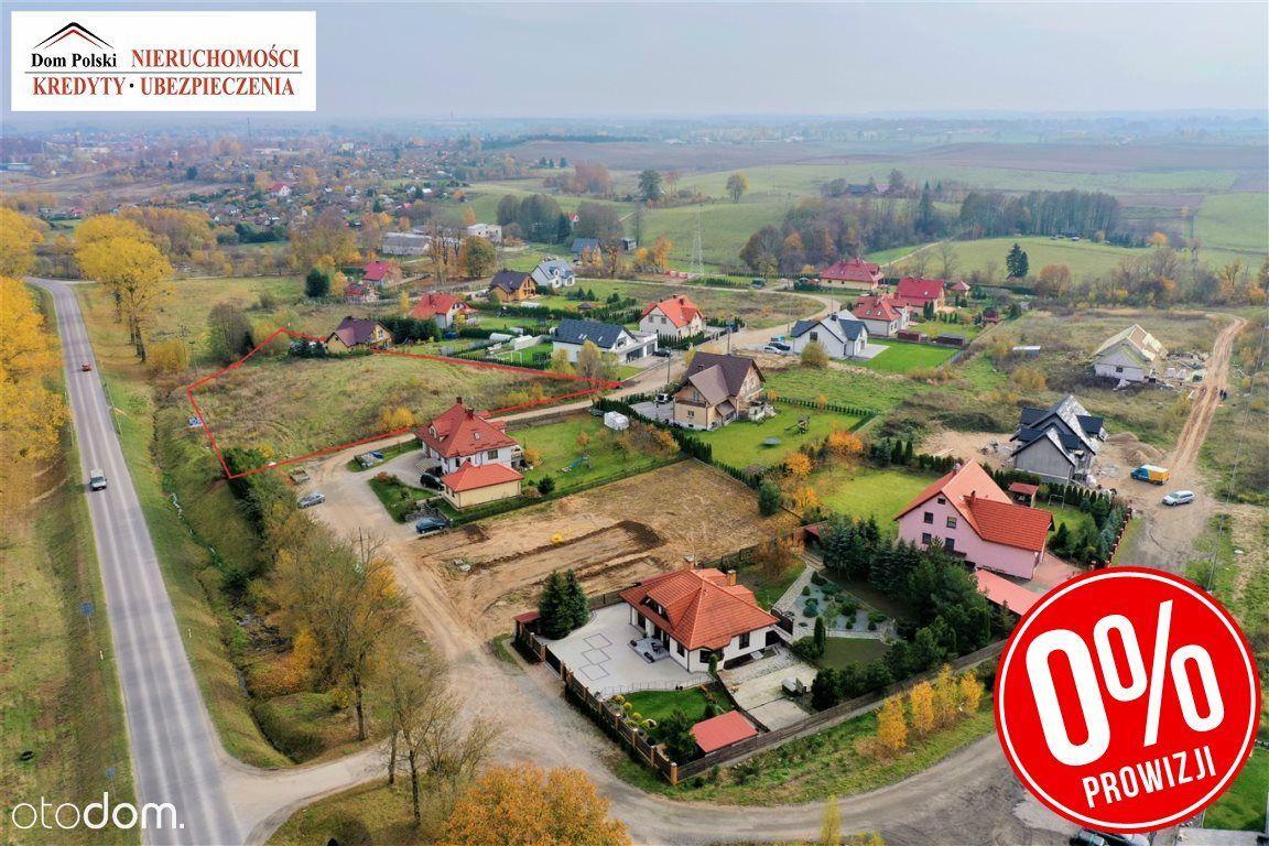 Działka inwestycyjna na obrzeżach miasta Olecka