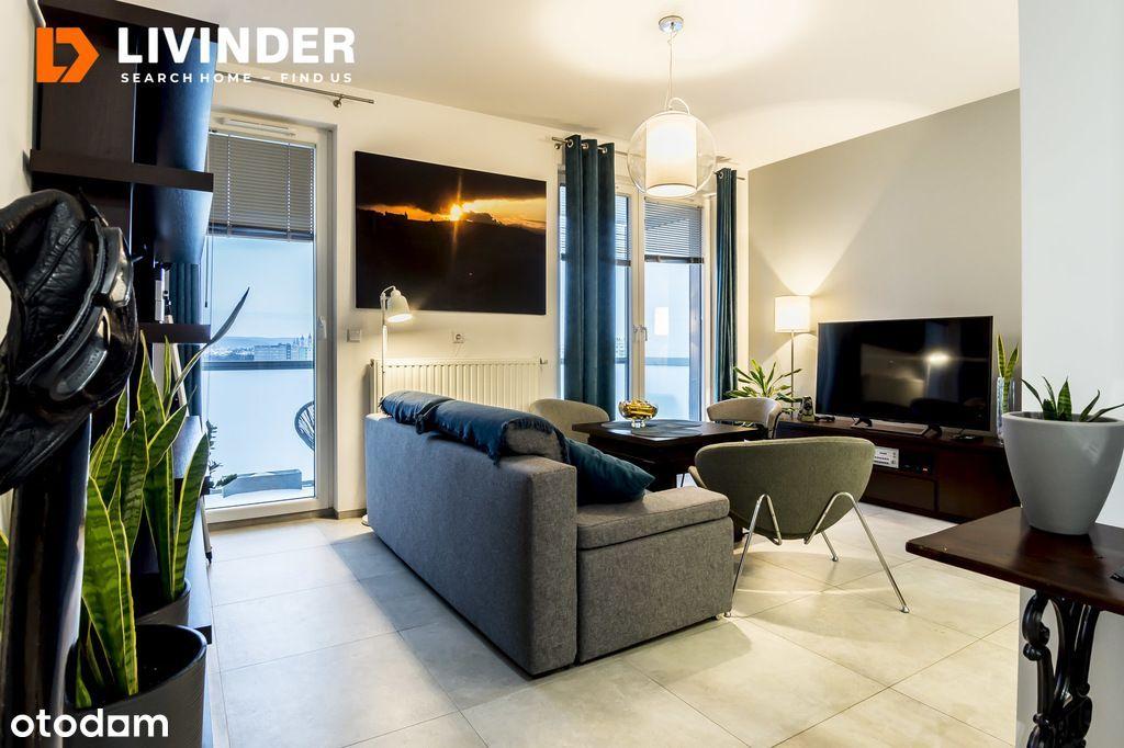 2 pokoje, otwarta kuchnia, balkon ul. Fabryczna