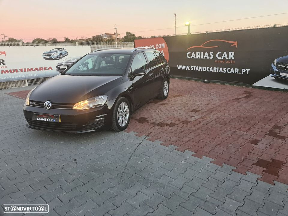 VW Golf Variant ver-1-6-tdi-bluemotion-confortline - 1