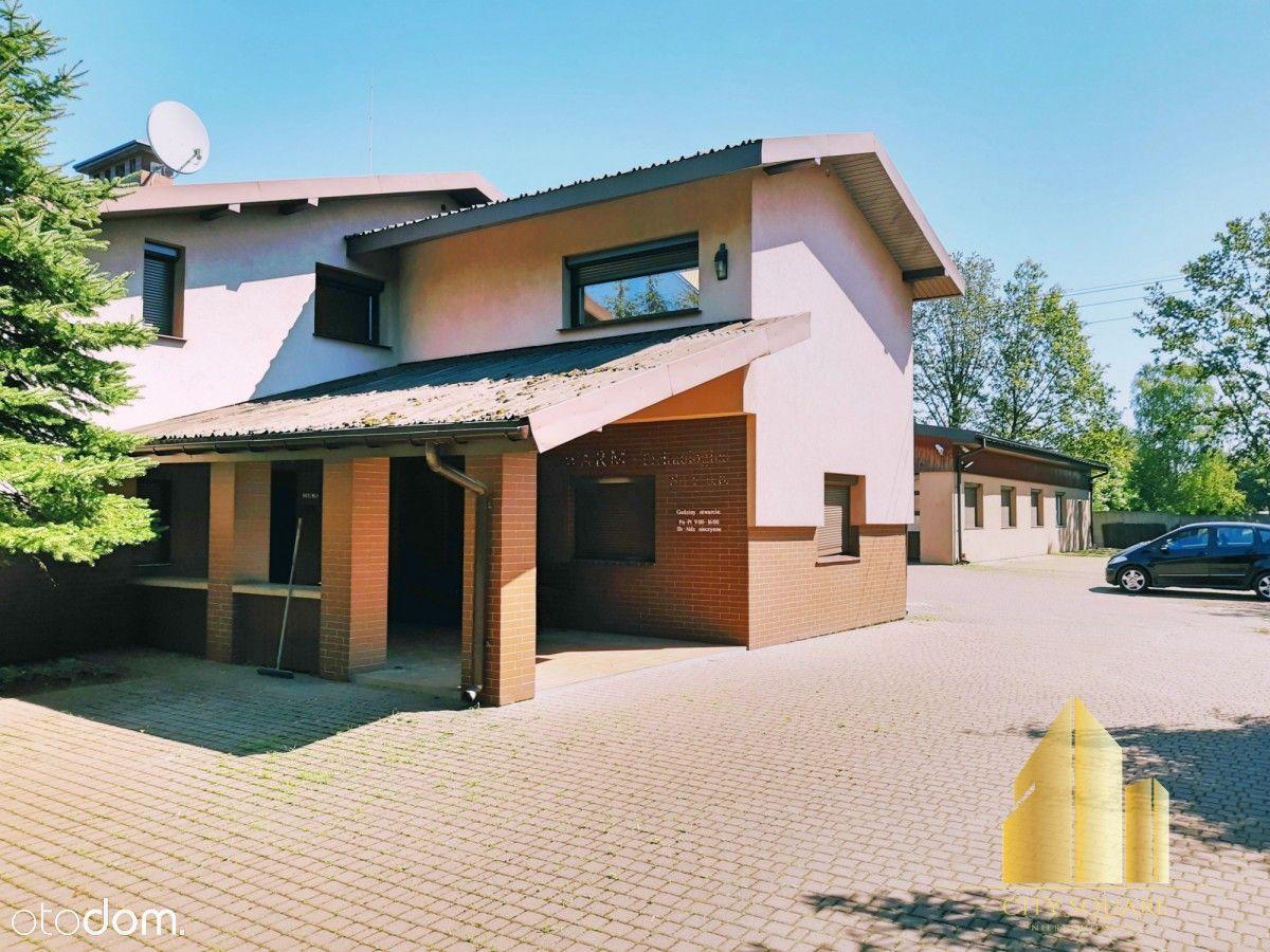 Dom+bydynek hand/magazynowy, diałka 3000m Rąbień