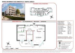Mieszkanie w inwestycji Willa na Żeraniu 68,70 m2