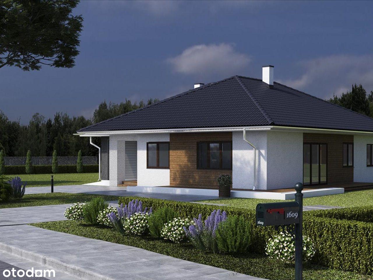 Nowoczesny dom w przepieknej okolicy lasów i łąk.