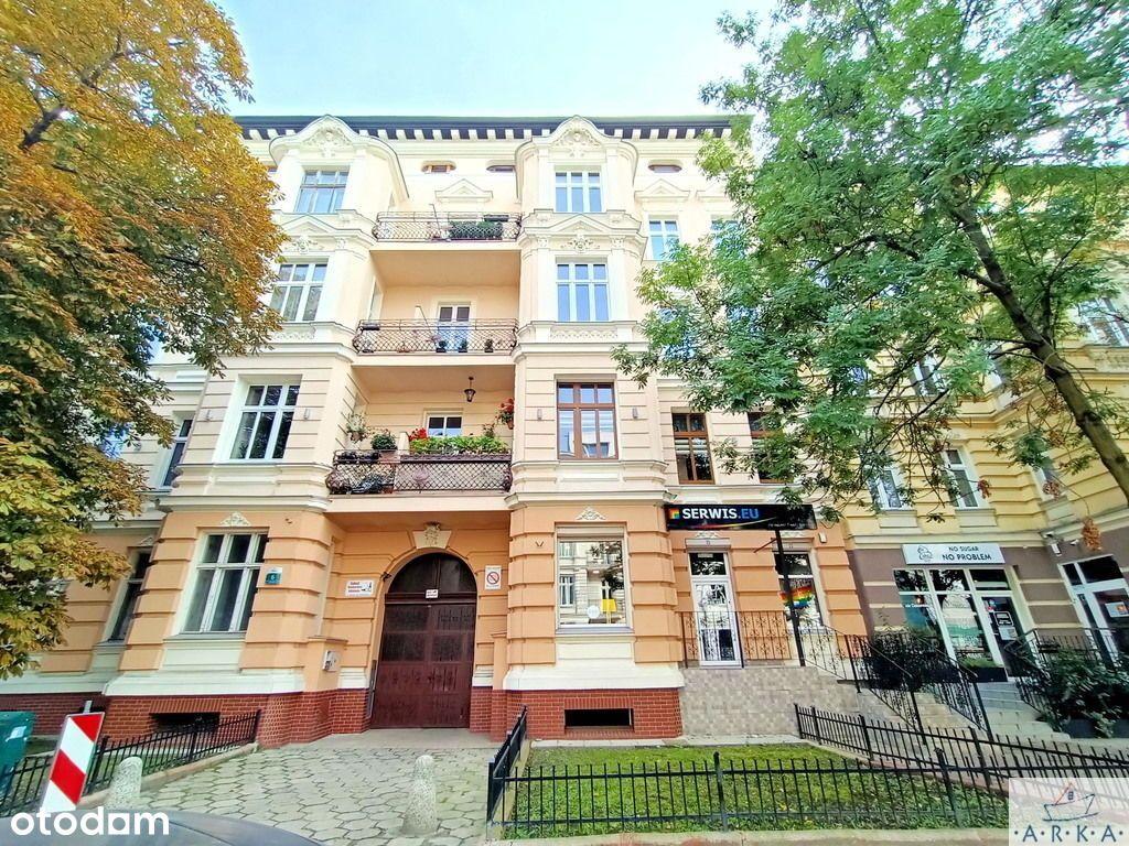 Śląska duże mieszkanie w kamienicy 125m IIp balkon