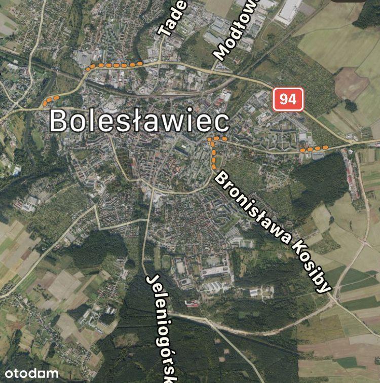Działka handlowo-przemysłowo-usługowa Bolesławiec