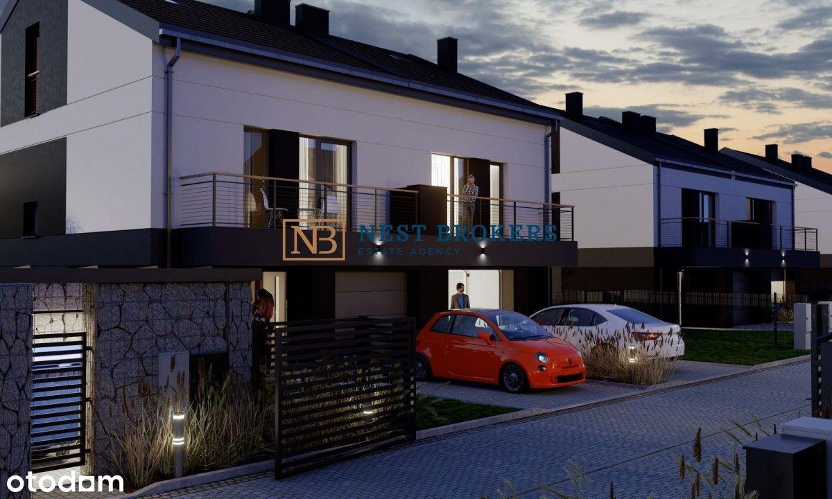 Bliźniak 128m2, Dębniki, 5 pokoi, ogród, garaż