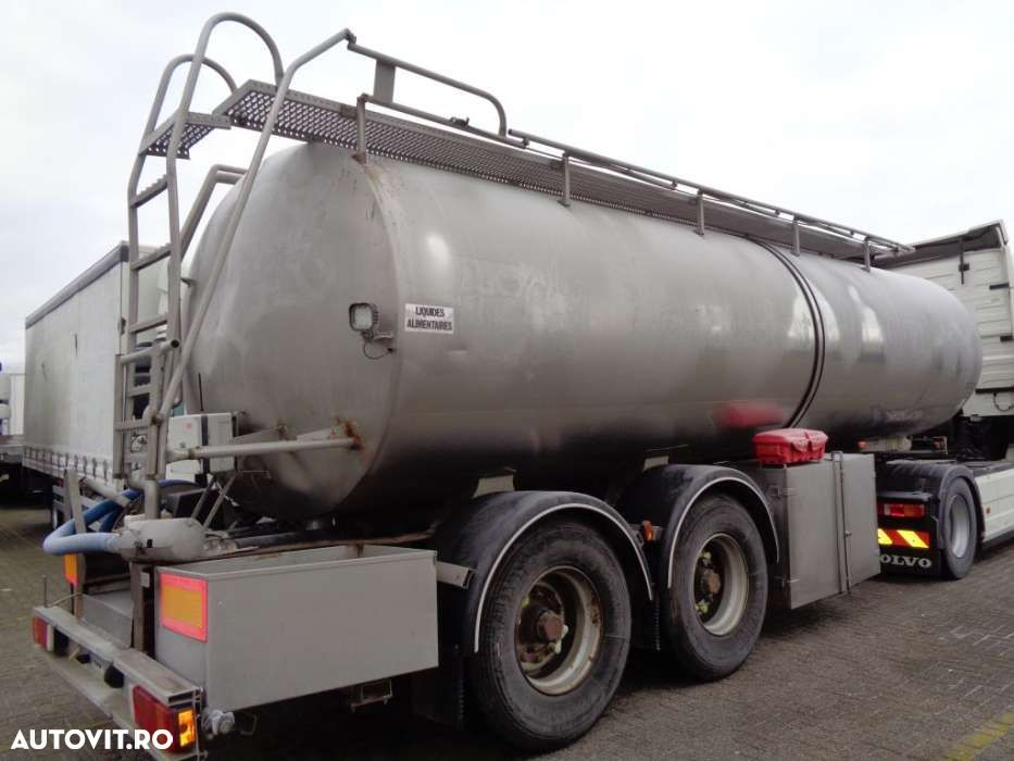 Trailor Milk/Water tank 2 COMP + 2 AXLE + ADR+25000liter - 3
