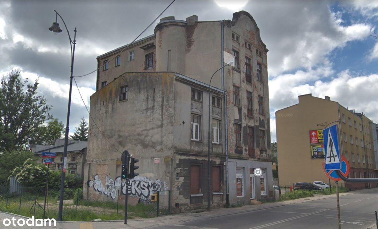 Nieruchomość gruntowa z kamienicą w Łodzi