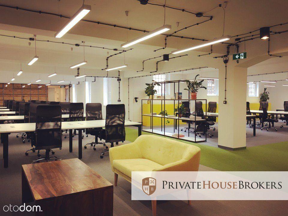 Lokal biurowy 350m2 w industrialnym budynku
