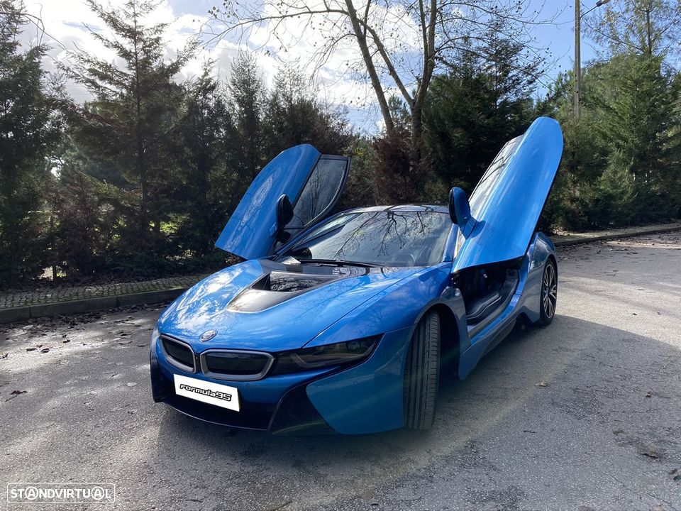 BMW i8 e-Drive Blue Protonic - 10