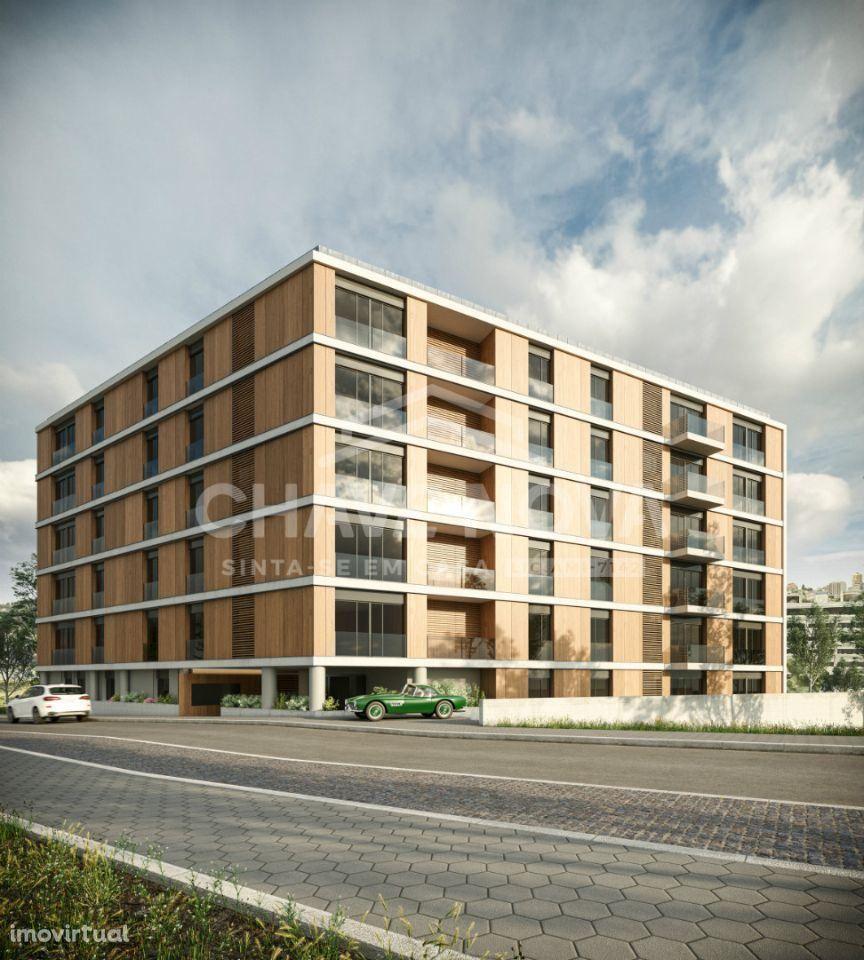Apartamento T2 varanda inicio construção junto Parque da Lavandeira