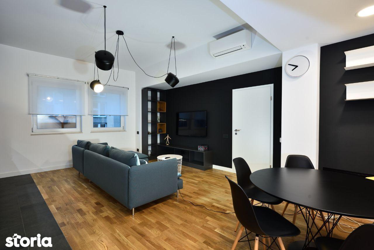 Apartament nou cu 2 camere mobilat lux, bloc deosebit, Piata Romana