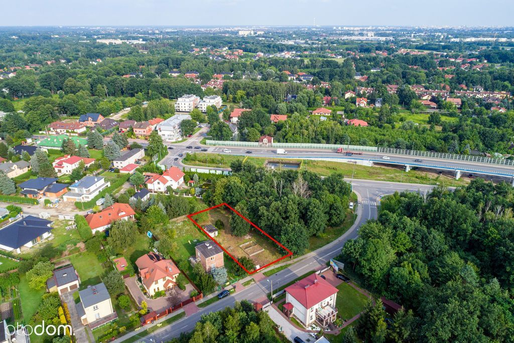 Białołęka Dworska działka 1000m2 Media Mpzp